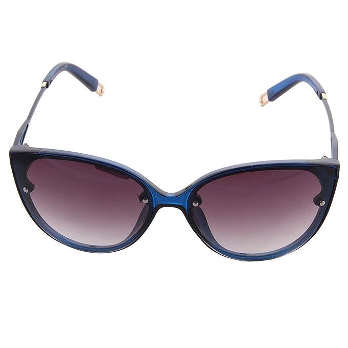 OGOBVCK Ojo de gato redondo conducción Sport Gafas de sol para mujer de moda