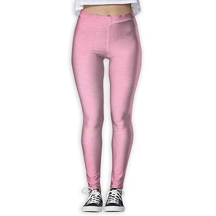 Amazon Com 15diw Light Pink Yoga Leggings Flex Yoga Pants For