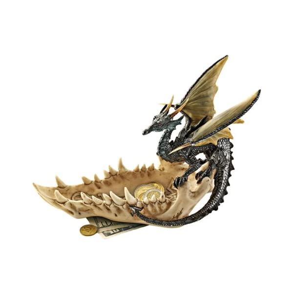 Design Toscano Jaw of the Dragon Offering Dish