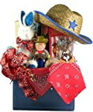 Round Em' Up! Cowboy Themed Gift Basket for Children