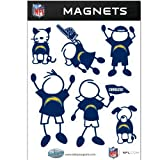 NFL San Diego Chargers Family Magnet Set