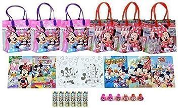 677931121461 Disney Minnie Mouse Party Favor Set - 6 Packs (42 Pcs) by GoodyPlus