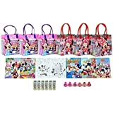 Disney Minnie Mouse Party Favor Set - 6 Packs (42 Pcs) by GoodyPlus