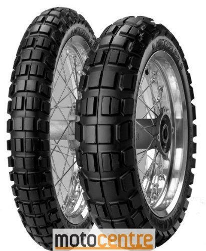 Metzeler Karoo 3 Tire - Rear - 140/80-17 , Position: Rear, Rim Size: 17, Tire Application: All-Terrain, Tire Size: 140/80-17, Tire Type: Dual Sport, Load Rating: 69, Speed Rating: T, Tire Construction: Radial 2316600