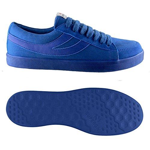 Sneakers - 4571-cotwashsueu Blue