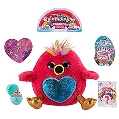 Rainbocorns Series 2 Ultimate Surprise Egg by ZURU - Hot Pink Flamingo: Toys & Games