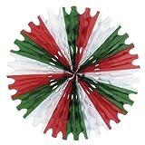 Kitchen & Housewares : Beistle 55293-RWG 1-Pack Tissue Fan, 25-Inch