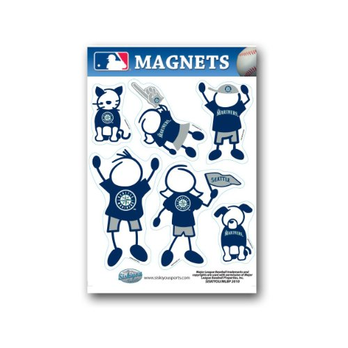 MLB Seattle Mariners Family Magnet ()