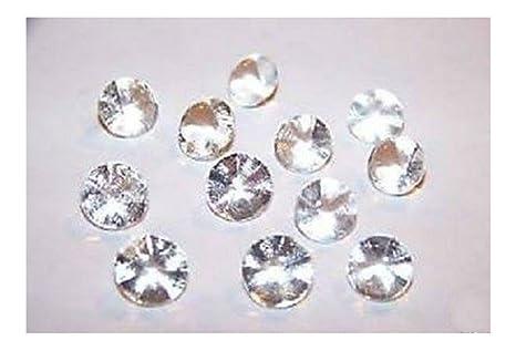 Amazoncom Edible Sugar Diamonds Mini Clear 6mm pack of 38 cake