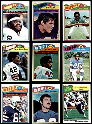 1977 topps football complete set - 8
