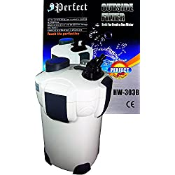 Perfect Brand New 200 Gallon Aquarium Fish Tank External Canister Filter UV 9w Sterilizer 3-Stage USA