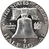 1963 P SILVER Gem Proof Franklin Half Dollar US Coin