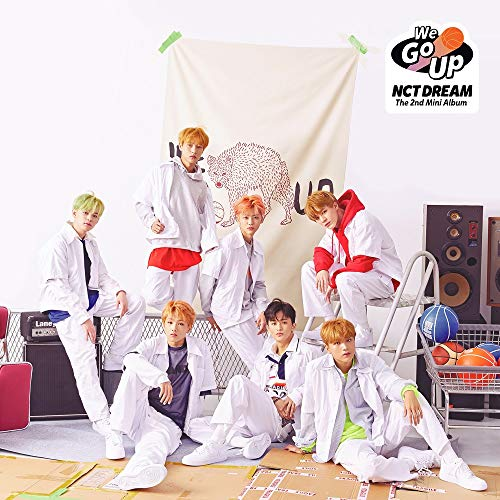 SM Entertainment NCT Dream - We Go up (2nd Mini Album) CD+Booklet+Photocard+Folded Poster+Extra Photo card