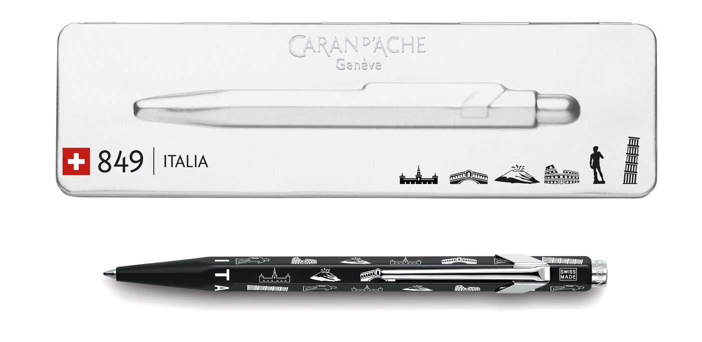 Caran d'Ache Goliath 849 ITALIA ITALIA ITALIA Limited Edition Kugelschreiber in Geschenkbox B07K29XBB5   Bekannt für seine gute Qualität  05abc1