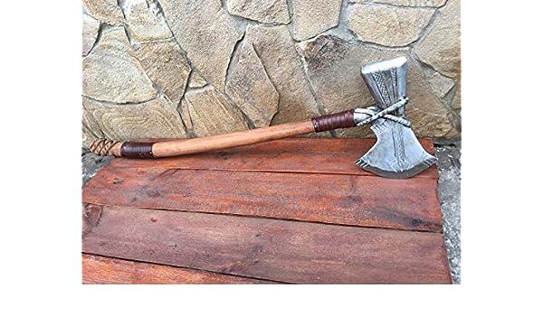 Mjolnir Chris Hemsworth stormbreaker prop Avengers Thor Storm Breaker Marvel cosplay,Infinity War costume weapons Marvel viking axe