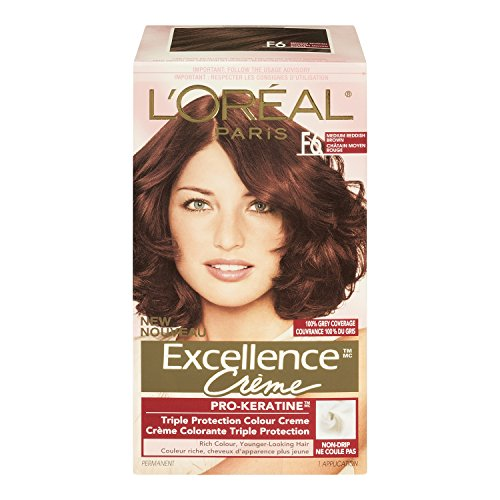 L'Oreal Excellence #5Rb Medium Red Brown Hair Color, 1 ct