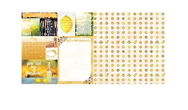 BoBunny 12x12 Scrapbooking paper Calendar Girl Collection May 2 sheets
