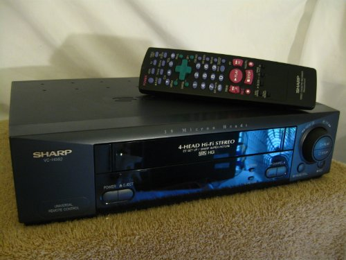 sharp vcr player - 8
