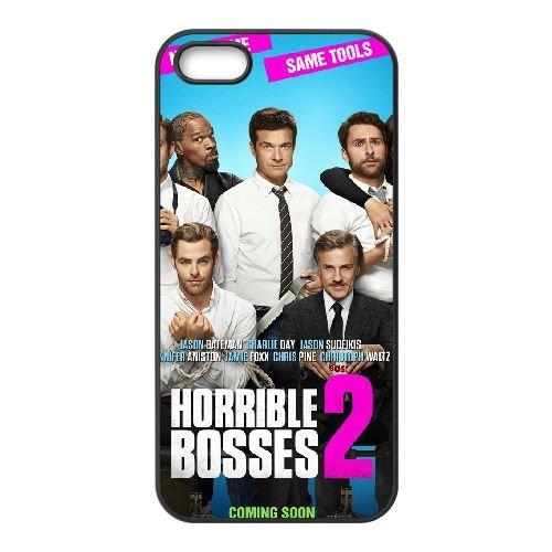 Horrible Bosses 2 2 coque iPhone 5 5S cellulaire cas coque de téléphone cas téléphone cellulaire noir couvercle EOKXLLNCD24426
