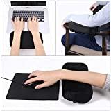 Healifty Armrest Pads - Chair Arm Pads Memory
