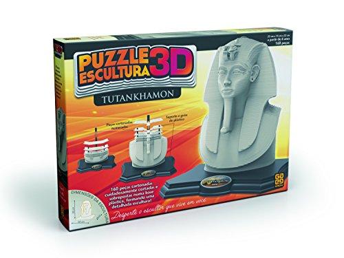 Puzzle Escultura 3D Tutankhamon Grow