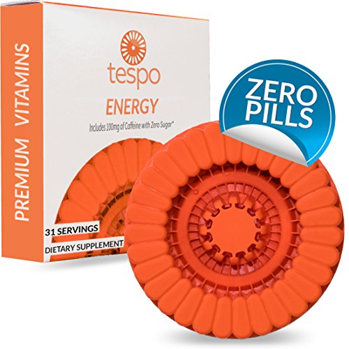 Energy Pod | Zero Sugar | 100mg Caffeine Vitamin Liquid B3 B6 B12 Taurine L-Glutamine | For Men and Women to Mix and Drink | 31 Servings per Pod | Natural Berry Flavor Review