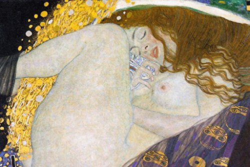 Gustav Klimt Danae Mural Giant Poster 54x36 inch