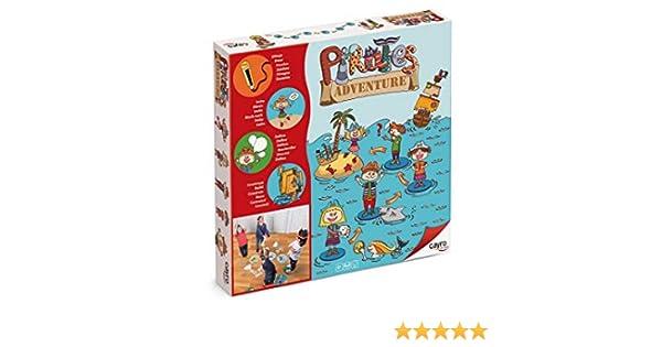 Cayro - Pirates Adventure - Juego Infantil - Desarrollo de la expresión Corporal y coordinación- Juego de Suelo (871): Amazon.es: Juguetes y juegos