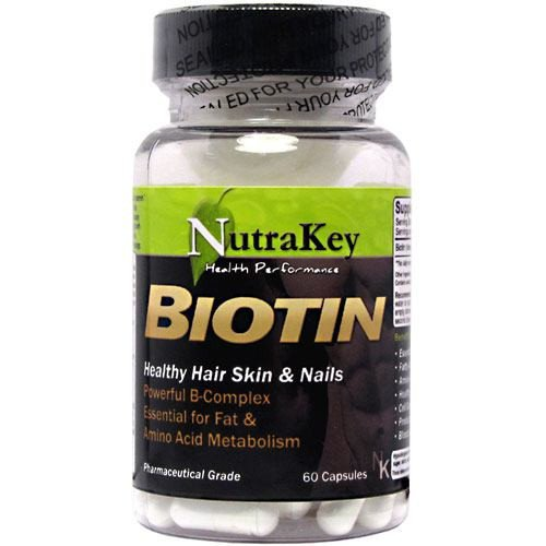 Nutrakey Nutrakey Biotin, 60 ea