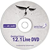 Gentoo Linux 12.1 [ Hybrid 32/64 bit DVD ] for Intel and AMD Computers