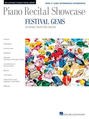 Download Festival Gems Book 2-10 Outstanding NFMC Early Intermediate/Intermediate Solos: Piano Recital Showcase pdf