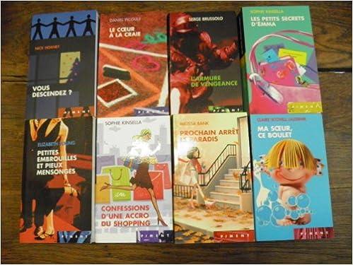 8a0c1c99d1 Amazon.fr - Lot de 8 livres collection Piment   éditions France Loisirs Le  coeur à la craie   Daniel Picouly - Vous descendez