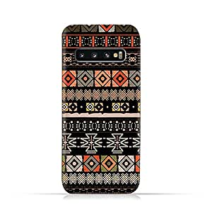 AMC Design Samsung Galaxy S10 TPU Silicone Soft Protective Case with Ethnic Boho Pattern