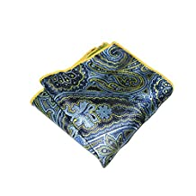 Sitong men's suits multicolor printed pocket square handkerchief(KHP-148)