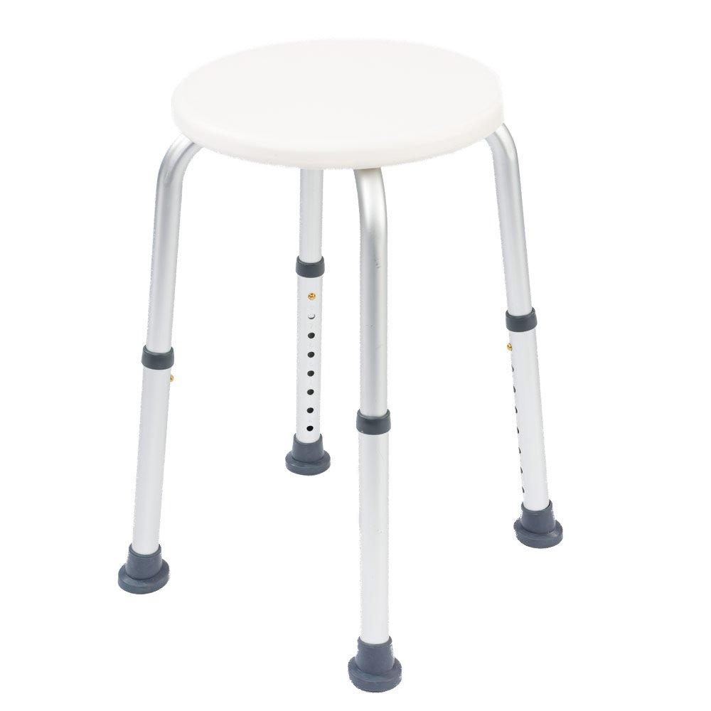 Height Adjustable Folding Shower Stool: Amazon.co.uk