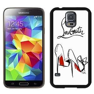 Beautiful And Unique Designed Case For Samsung Galaxy S5 I9600 G900a G900v G900p G900t G900w With Christian Louboutin 9 Black Phone Case
