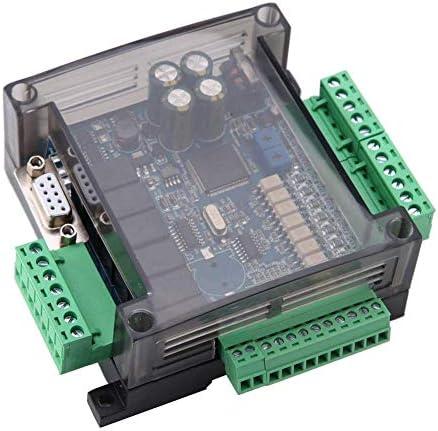 ZT-TTHG PLCコントロールボード、産業用制御ボードFX3U-14MR 8入力6出力プログラマブルシンプルコントローラ