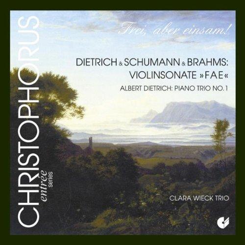 (Dietrich: Piano Trio No. 1 & Violin Sonata FAE)