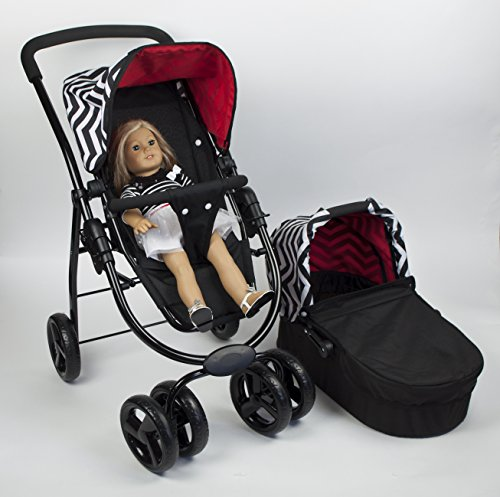 3 In 1 Doll Pram Stroller - 7
