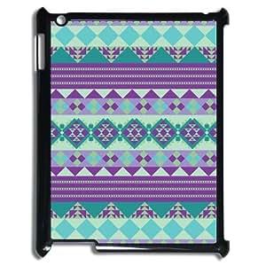 Godstore Custom New Style Colorful Chevron Pattern Cover Hard Plastic Ipad 3 Case by supermalls