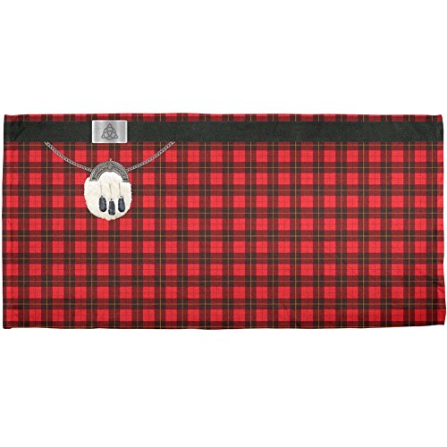 [St. Patricks Day - Kilt Wallace Traditional Scottish Plaid Costume Bath Towel] (The Music Man Costumes For Sale)