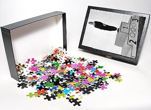 Photo Jigsaw Puzzle of Fanny Blankers-Koen on the podium, 1948 Olympics