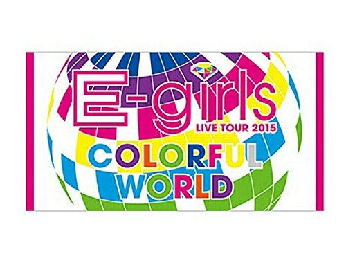 E-girls COLORFUL WORLD ビーチタオルの商品画像