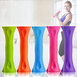 elegantstunning da Donna con manubri manubri a Combinazione Regolabile Braccio Force 1Coppia (di Colore Casuale) 1.4kg