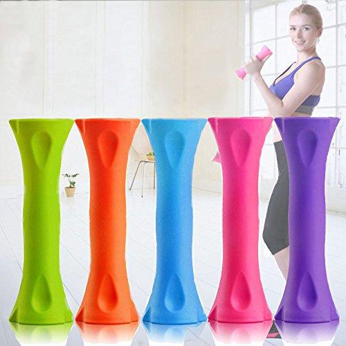 Eleganantamazing - Mancuernas Ajustables para Mujer, combinación Ajustable, Brazo de Mancuernas, Fuerza 1 par (Color al Azar) 2 kg: Amazon.es: Hogar