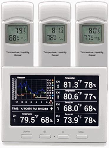 Ambient Weather WS-3000-X3 Thermo-Hygrometer