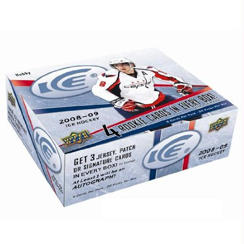 Upper Deck NHL 2008-09 Ice Trading Card Box