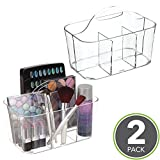 mDesign Cosmetic Carrying Caddy for Brushes, Lipsticks or - Best Reviews Guide