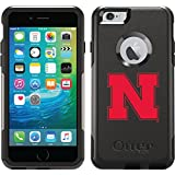 Coveroo Commuter Series Cell Phone Case for iPhone 6 Plus - Retail Packaging - Nebraska N