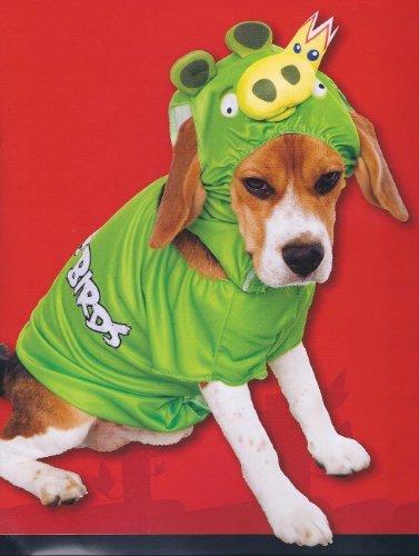 Paper Magic Angry Birds King Pig Dog Pet Halloween Costume -